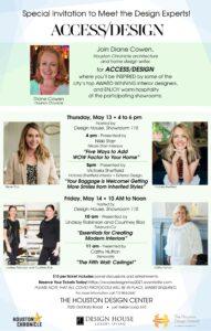 Access/Design: May 13-14, 2021 @ The Houston Design Center   Houston   Texas   United States