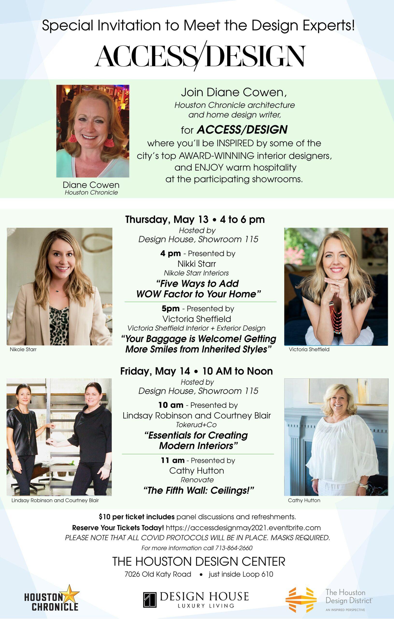 Access/Design: May 13-14, 2021